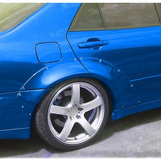Lexus IS200 1 rear fender flares | +40 mm