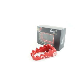 Footpeg #Barracuda, red