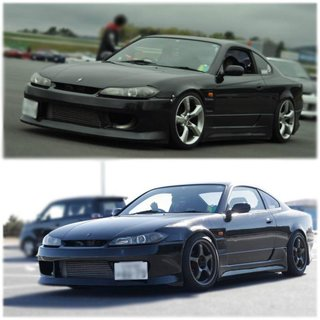 Nissan Silvia S14 front bumper, D-MAX 3-Style