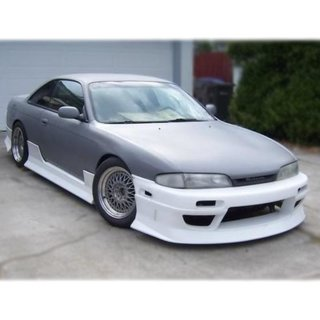 Nissan Silvia S14 / S14a side skirts, D-MAX 3-Style