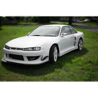 Nissan Silvia S14 / S14a rear fender, widebody | +100 mm