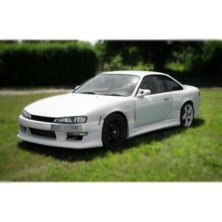 Nissan Silvia S14a front fender with air intake | +25 mm