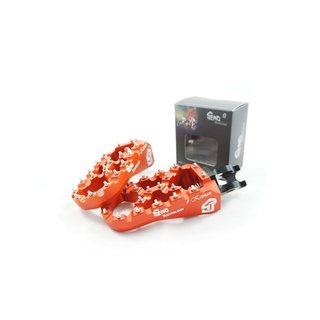 Footpegs adjustable #Kaiman KTM/ Husqvarna 16-, orange