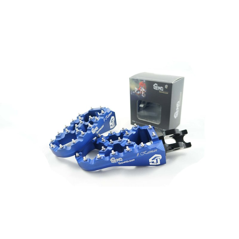 Footpegs adjustable #Kaiman KTM/ Husqvarna 16-, blue