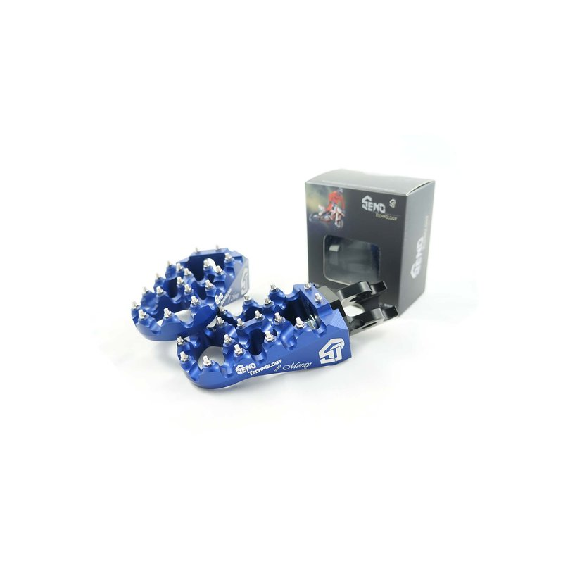 Footpegs adjustable #Moray Yamaha 96-/ GASGAS 99-, blue